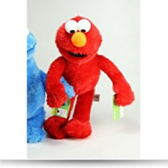 Save Elmo Classic Plush Doll 9 5