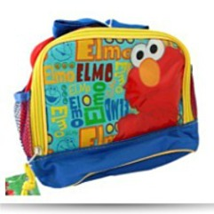 Save Elmo Insulated Lunch Bag