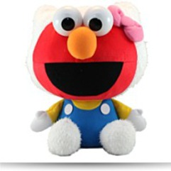 Hello Kitty Sesame Street Plush