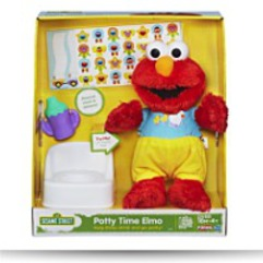 Save Playskool Potty Time Elmo Plush Toy