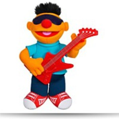 Playskool Sesame Lets Rock Strummin
