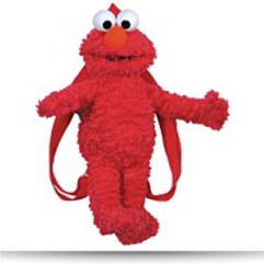 Plush Backpack Elmo