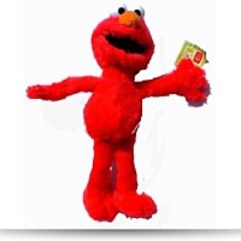 Save Plush 10IN Elmo Plush Doll