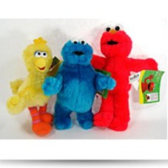 Sesame Street 3 Piece 9 Plush Set