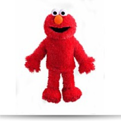 Sesame Street Elmo Plush Full Body Hand