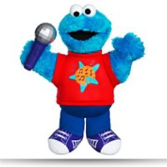 Save Sesame Street Lets Rock Singin Cookie