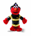gund elmo firefighter makes appearance furry