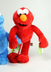 elmo classic plush doll measures inches