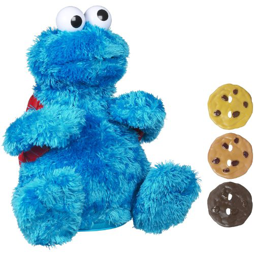 Count And Crunch Cookie Monster Plush