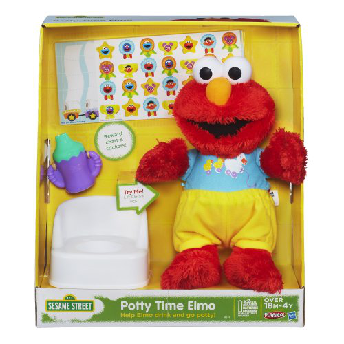 Playskool Potty Time Elmo Plush Toy